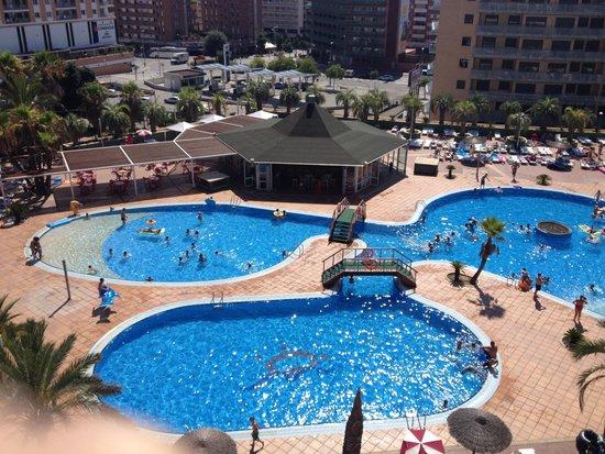 Aparthotel Costa Encantada: Perfect view
