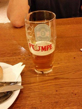 Pumpe: Good draft beer