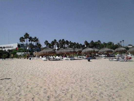 El Mouradi Beach : Spiaggia