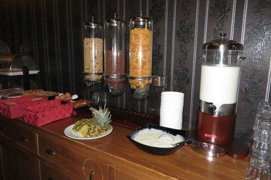 Hotel Waddenweelde: ontbijtbuffet