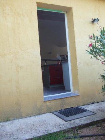 Maora Village: Porte d'entrée