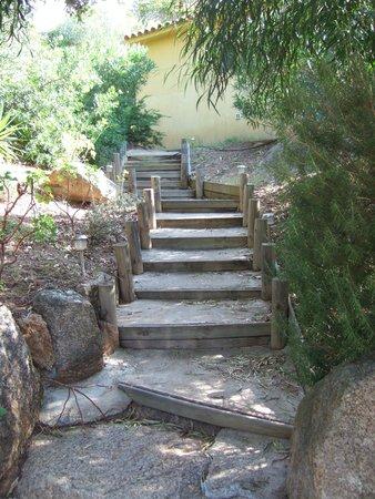 Maora Village: Escalier