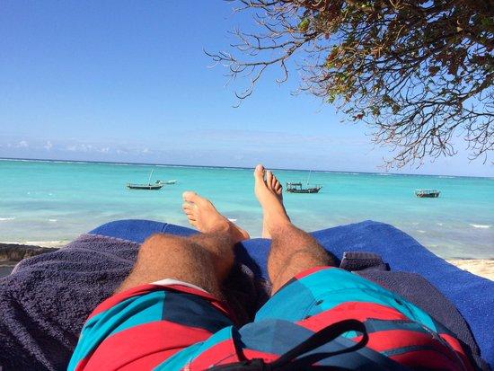Ras Nungwi Beach Hotel: Mi rincón exquisito