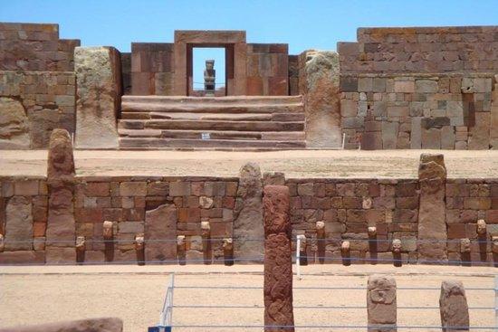 Tiwanaku : Храмовый комплекс
