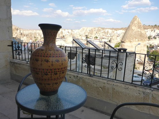 Canyon View Hotel : Our terrace room