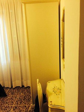 Hotel Guerrini: visuale camera