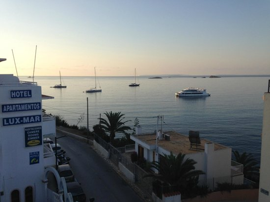 Balcony View Picture Of Apartahotel Lux Mar Ibiza Town