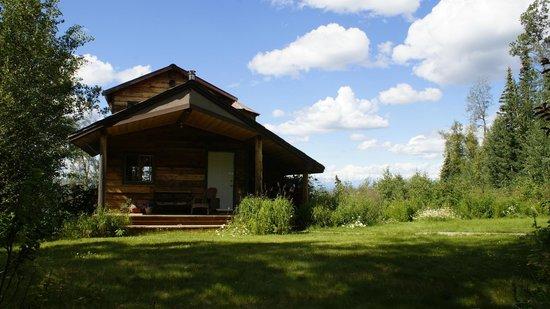Traleika Mountaintop Cabins: Denali Guesthouse