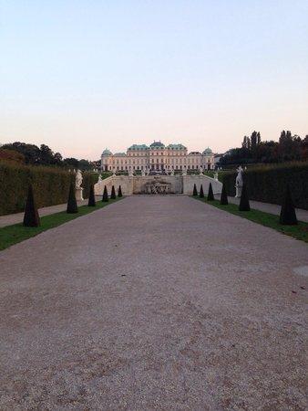 Schloss Belvedere: Вид на дворец