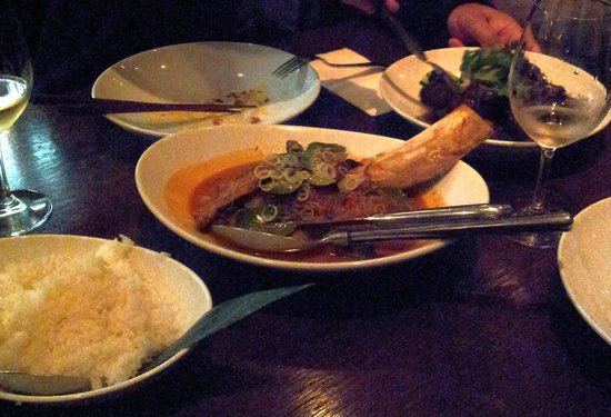 MooChowChow: Red curry of coconut-braised beef rib...