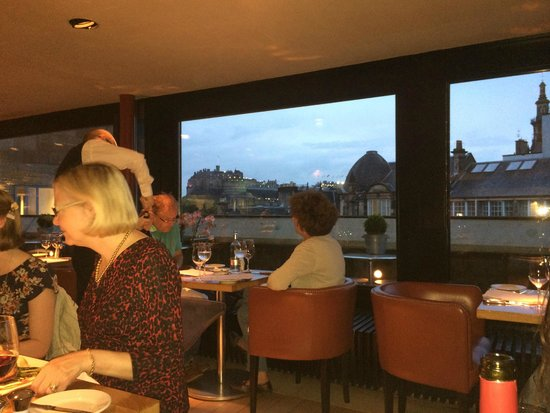 Tower Restaurant : Tower has views towards Castle