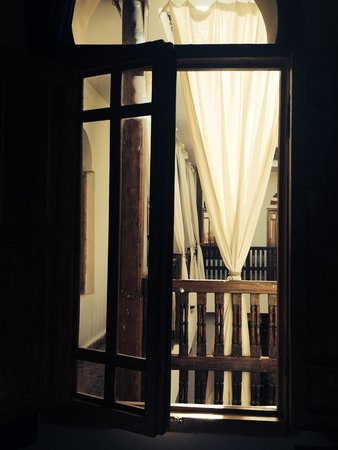 Riad le Coq Berbere: Morning view from bedroom