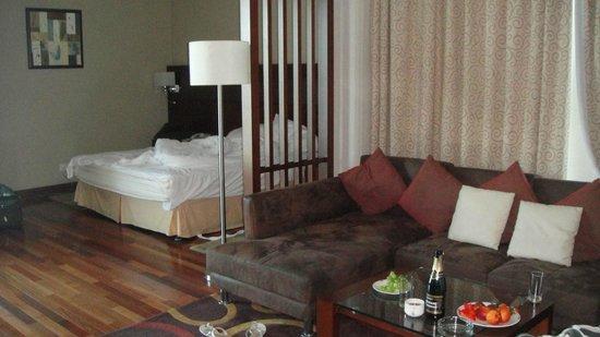 Flora Creek Deluxe Hotel Apartments: Большой и чистый номер