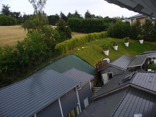 Hotel du Golf: Вид из номера