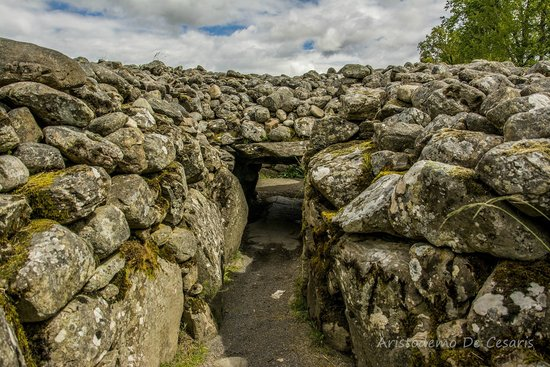 Corrimony Chambered Cairn: Entrata