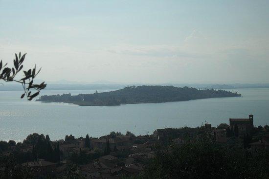 Umbria in Quad: Vista lago