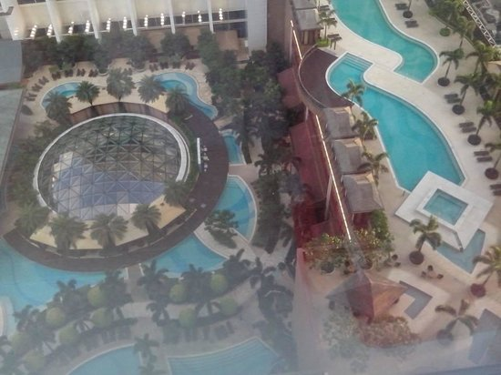Sheraton Grand Macao Hotel, Cotai Central: View outside my room.