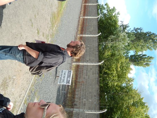 SANDEMANs NEW Europe - Berlin: Stephen at the concentration camp