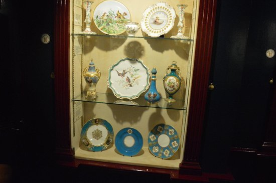 Coalport China Museum: On display