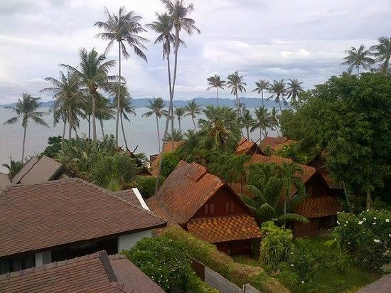 The Sea Koh Samui Boutique Resort & Residences : view from the room