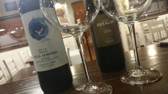 La Flaca Tapas : muy buenos vinos
