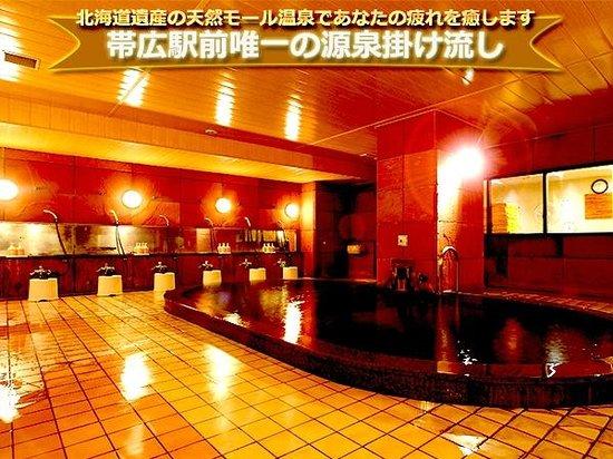 Fukui Hotel: 帯広駅前唯一の源泉掛け流し