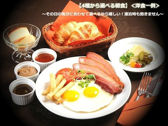 Fukui Hotel: 朝食(洋食)