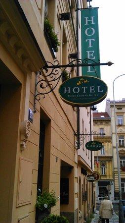 Three Crowns Hotel : Außenansicht