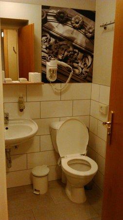 Three Crowns Hotel : Badezimmer