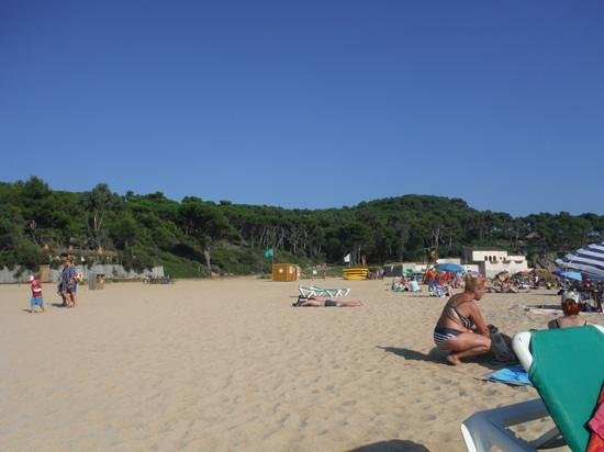 Palamos, Spania: Castell beach, September 2014