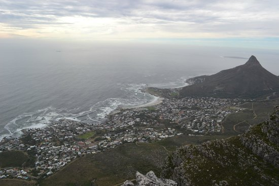 Twelve Apostles : View from the top of one of the 12 Apostles