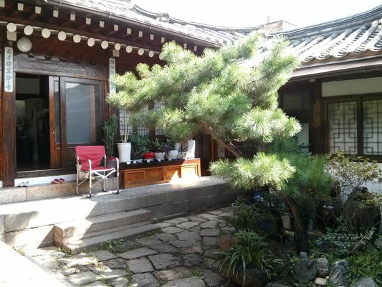 So Sun Jae Guesthouse : Courtyard