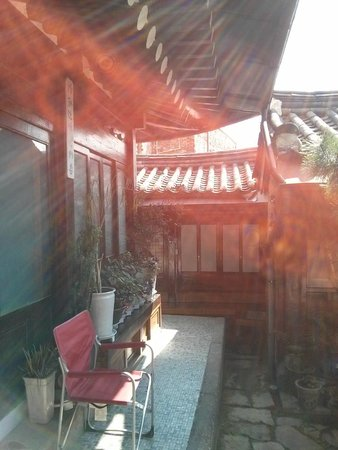 So Sun Jae Guesthouse : View to rooms