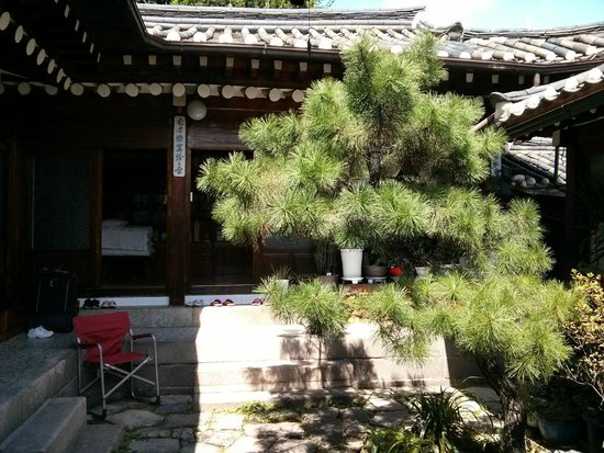Courtyard Picture Of So Sun Jae Guesthouse Seoul