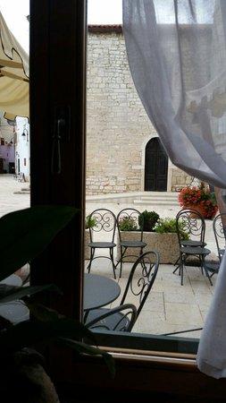 Villetta Phasiana: Vista dalla sala colazioni :)