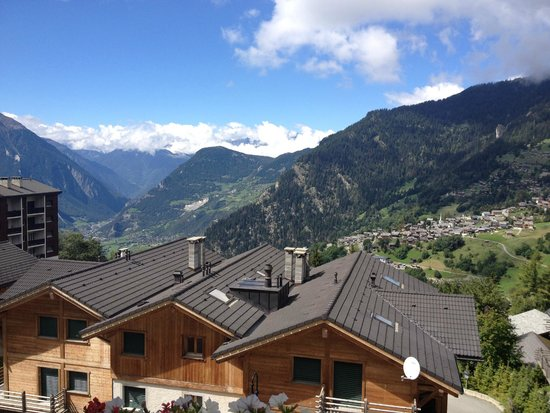 The Lodge Verbier: View from our room