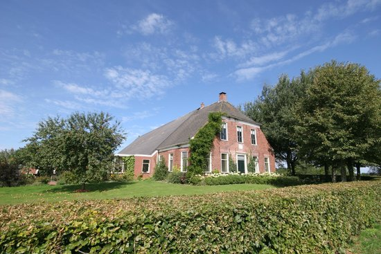 Mensingeweer, The Netherlands: View of B&B Groot Maarslag