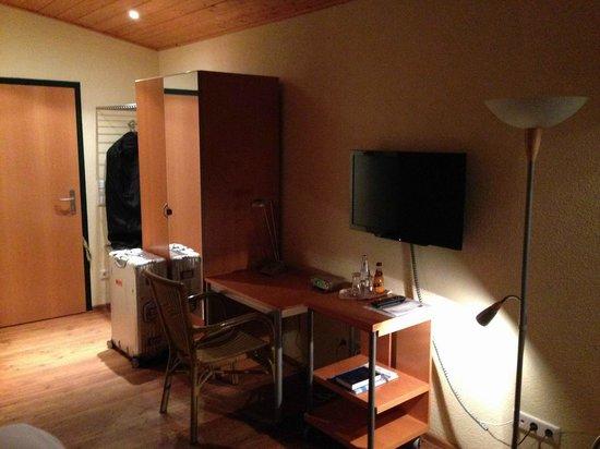wohnen im gew chshaus bild von landhotel grashof. Black Bedroom Furniture Sets. Home Design Ideas