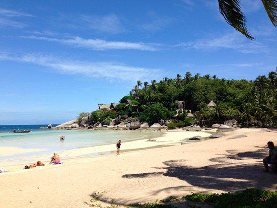 Palm Leaf Resort: Spiaggia Sairee
