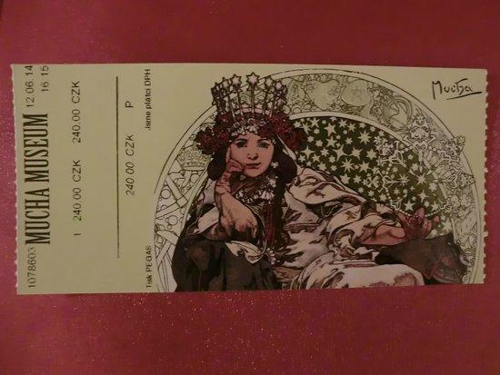 Mucha-Museum: ミュシャ美術館のチケット