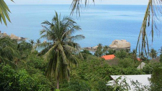 Tanote Villa Hill : Ausblick vom Zimmer