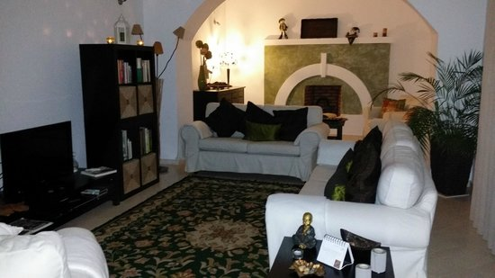 Casa do Platano: Sala de estar do Hotel