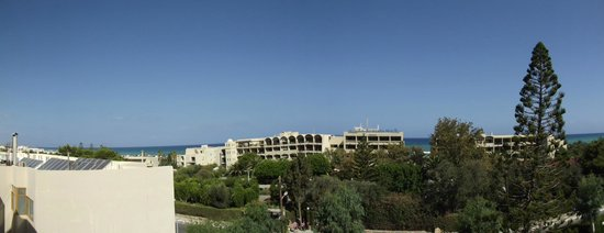 Orion Hotel: our 'sea view'