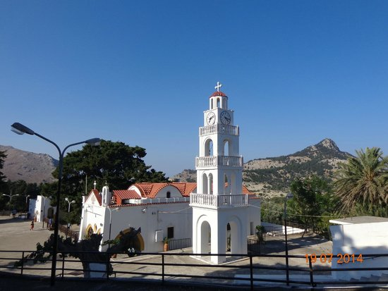 Monastery Tsambika: ВИД