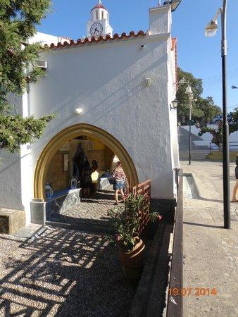 Monastery Tsambika: ...