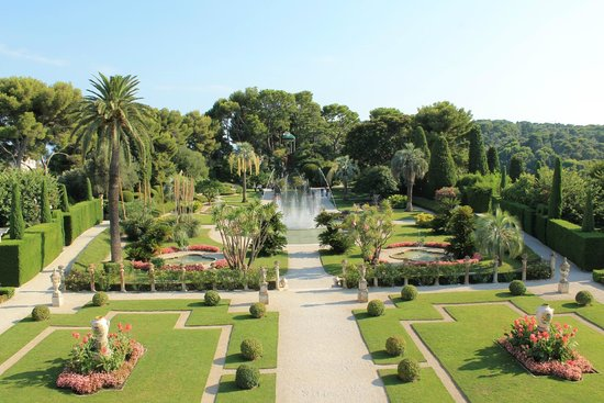Jardin picture of villa jardins ephrussi de rothschild st jean cap ferrat tripadvisor - Jardins ephrussi de rothschild ...