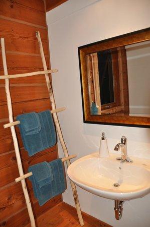 Moul Creek Lodge B & B: bathroom