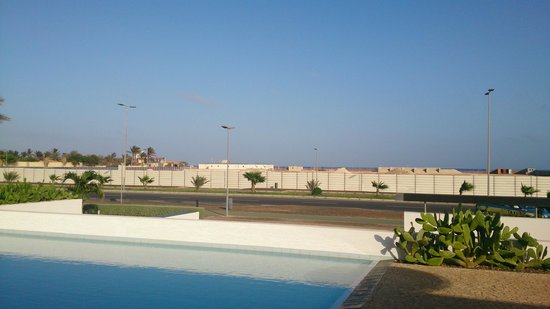 Hotel Dunas de Sal : View opposite to the hotel: construction site of the Hilton Hotel (September 2014)