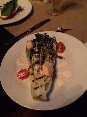 Cha Bella: Grilled Ceasars Salad