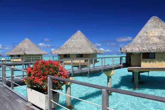 InterContinental Bora Bora Le Moana Resort : Hotelanlage